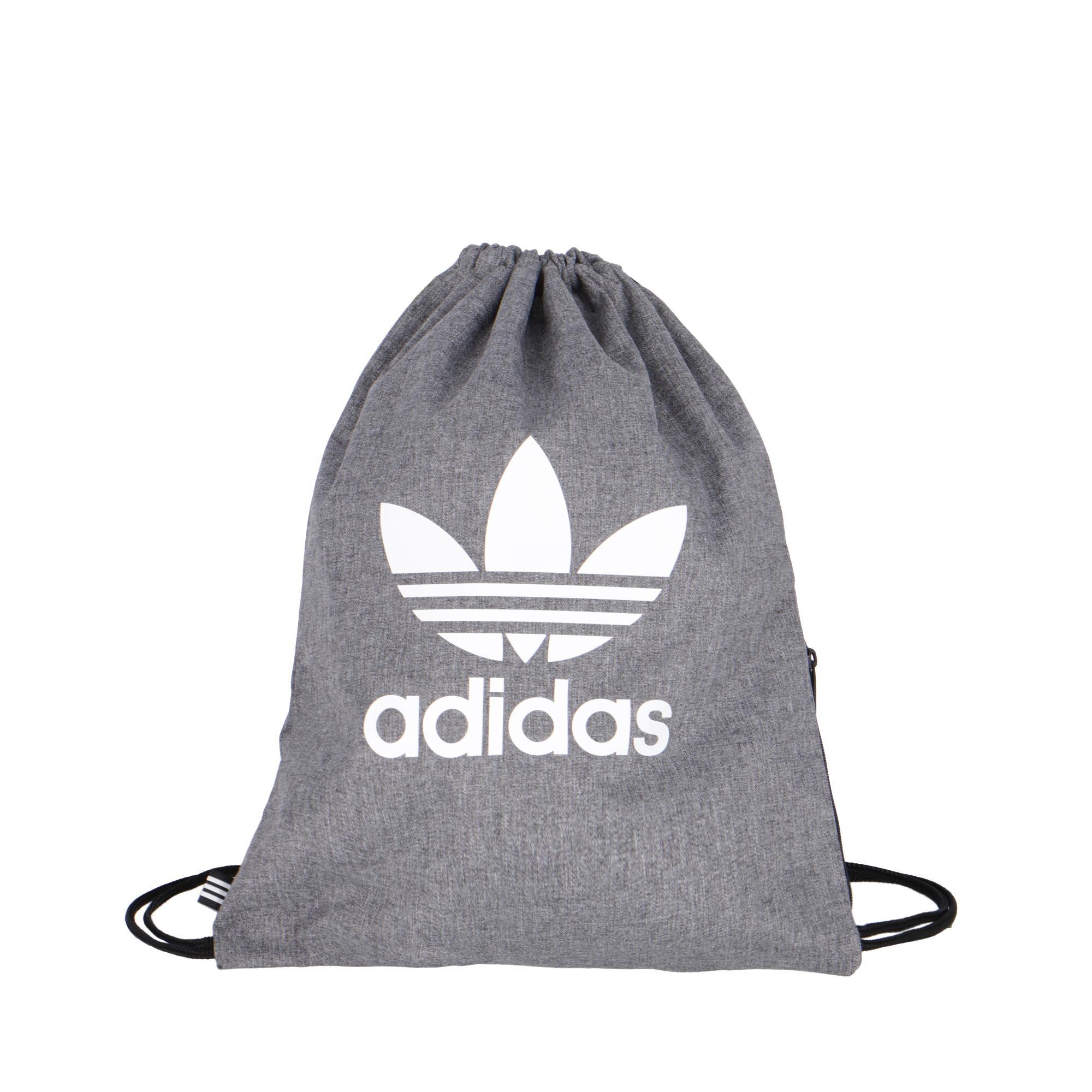 4b39fa054b Adidas Gymsack Trefoil Black White