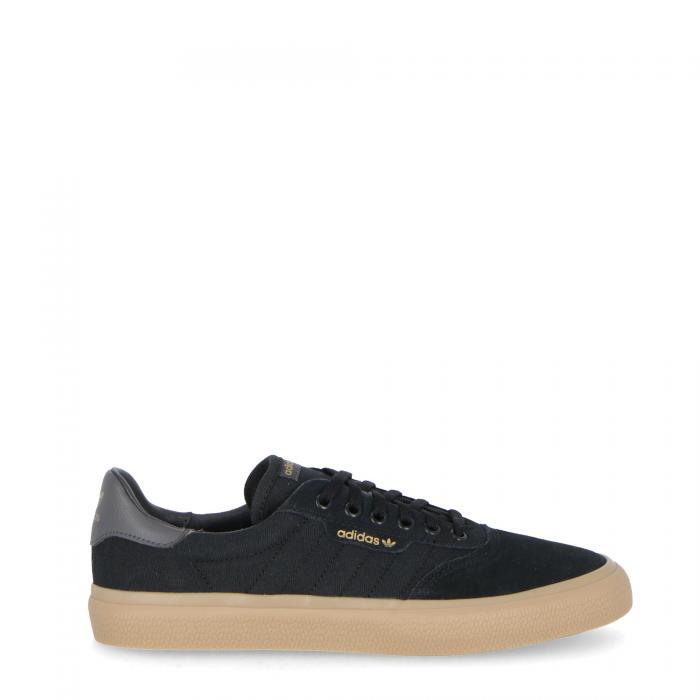 adidas basse black grey gum