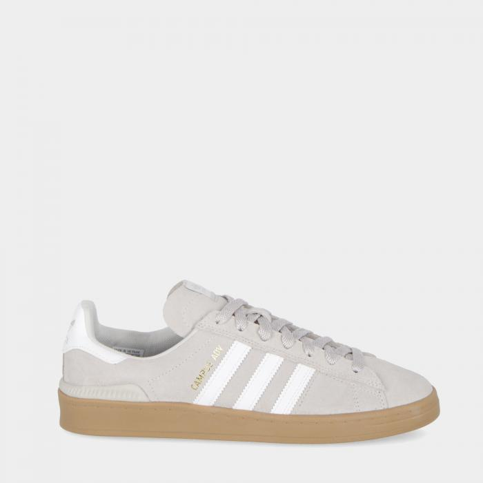 adidas basse grey white gold