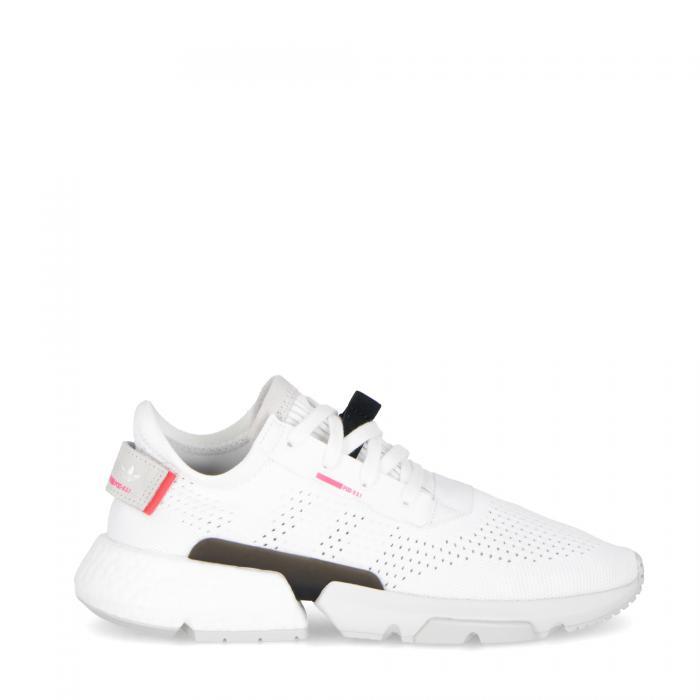 adidas scarpe lifestyle white shock red