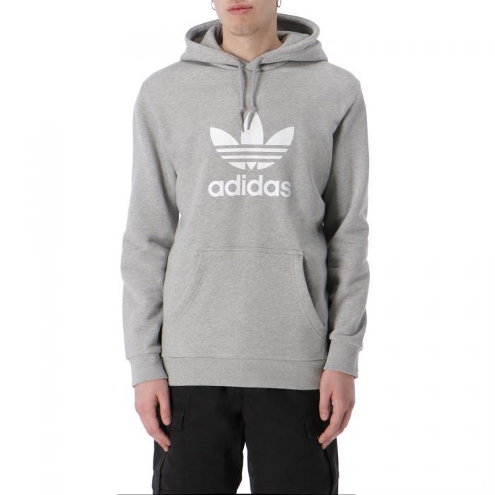 adidas felpa cappuccio medium grey