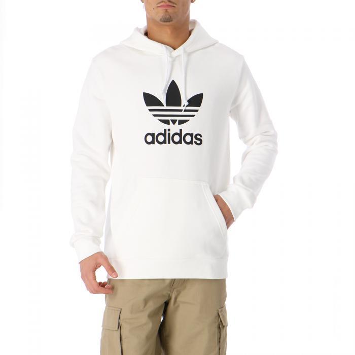 adidas felpe white
