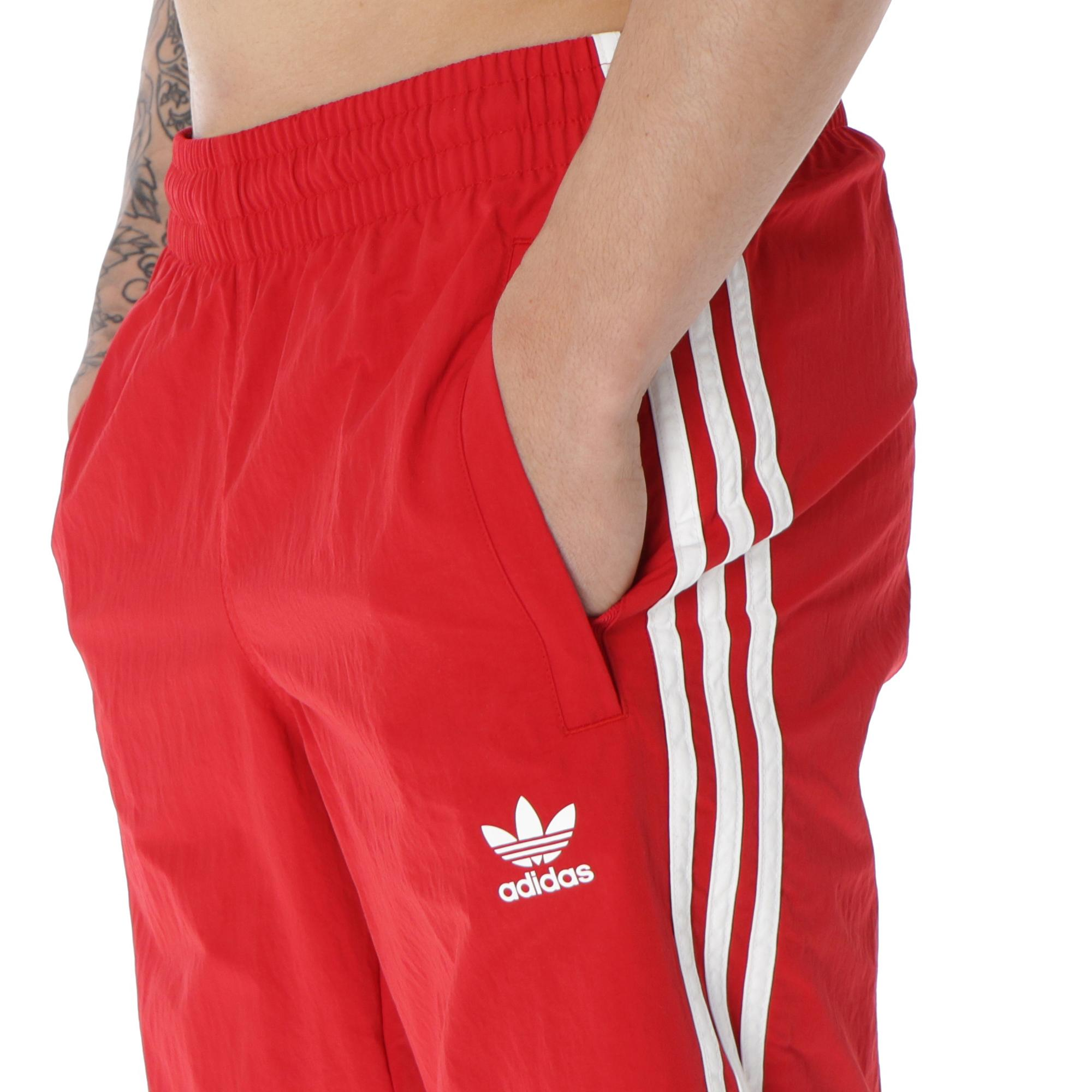 Adidas Stripes Swimming Short Power red