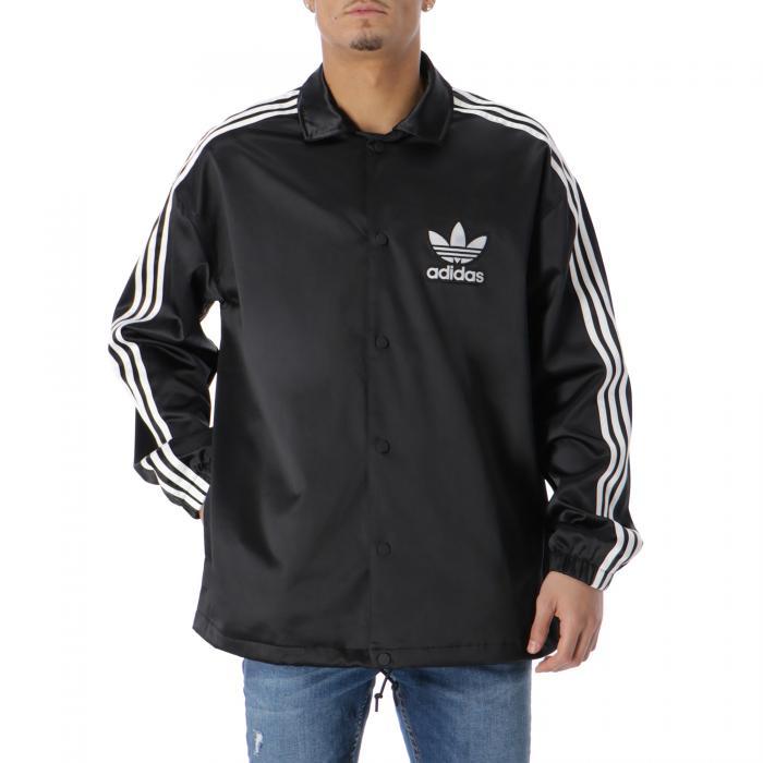 adidas giacche black white
