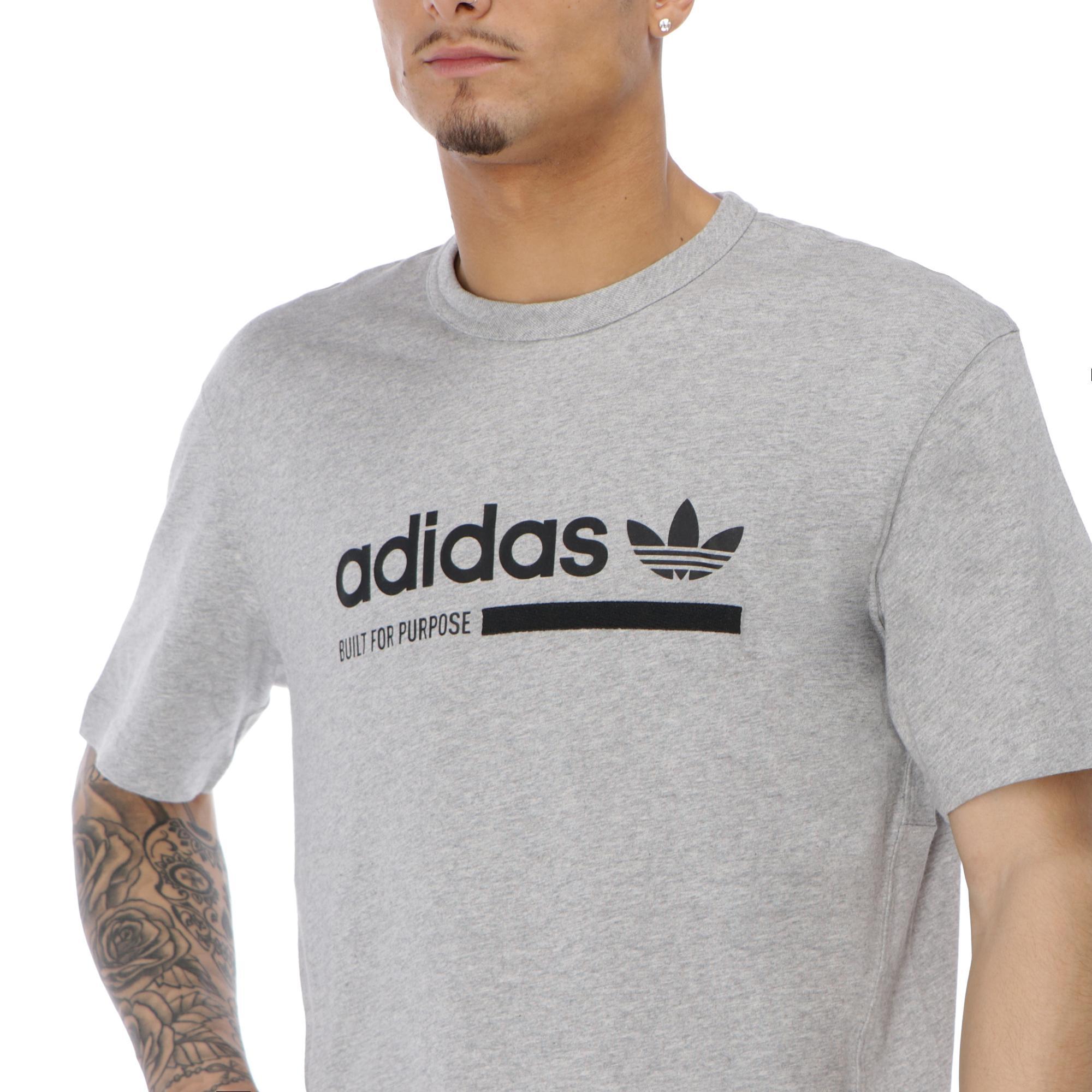 Adidas Tee MEDIUM GREY