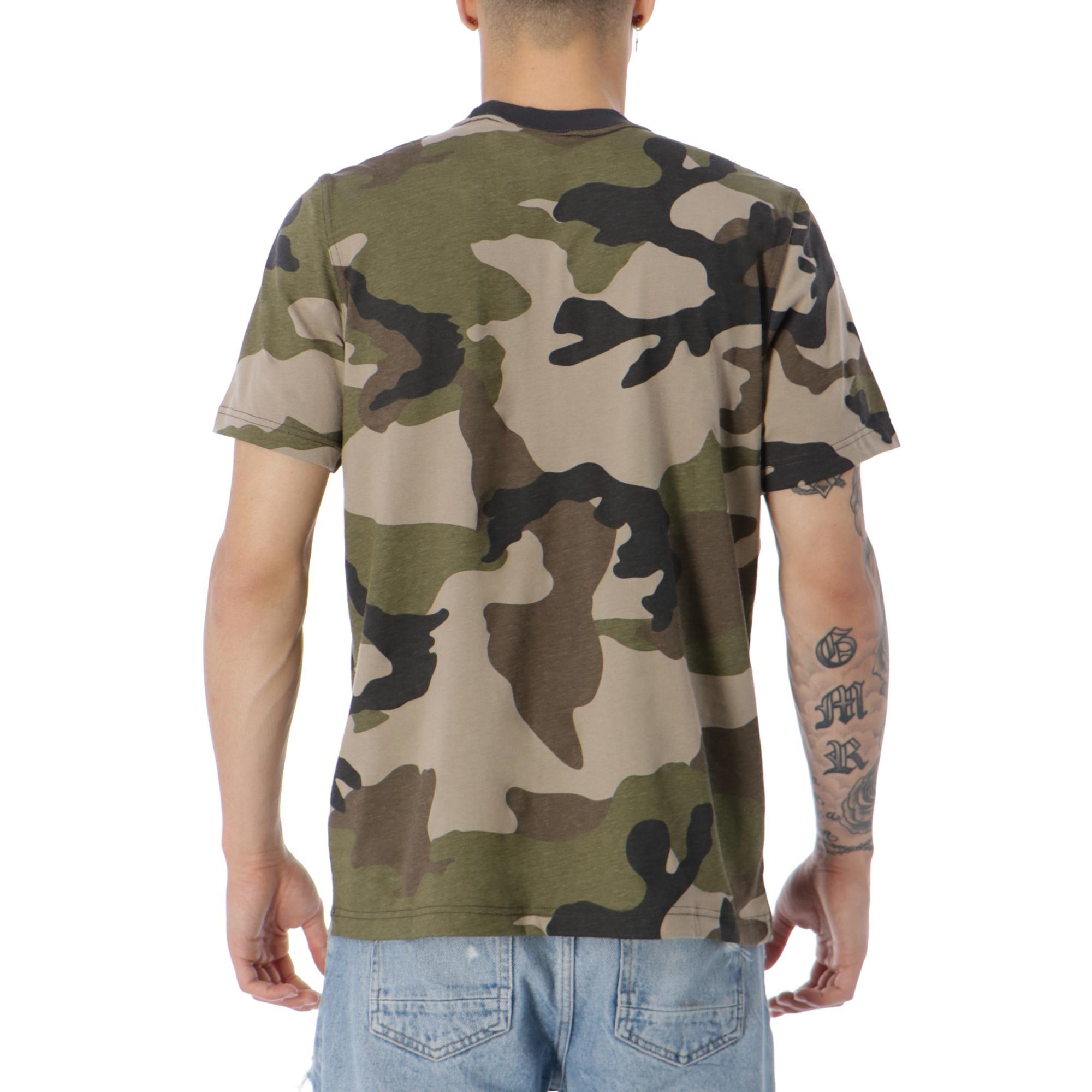 adidas trefoil camo t shirt
