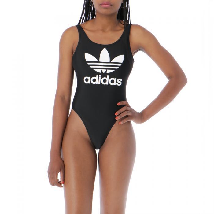 adidas beachwear black