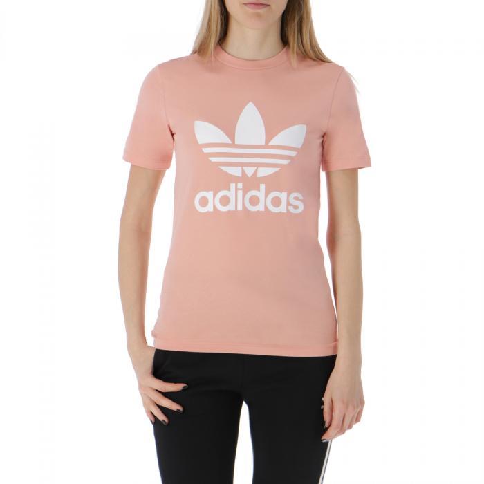 adidas maniche corte dust pink