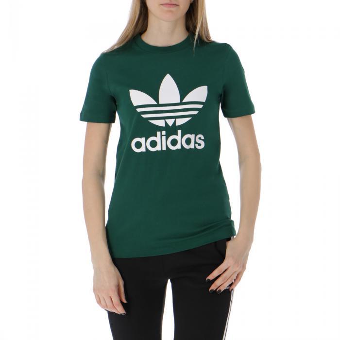 adidas maniche corte collegiate green