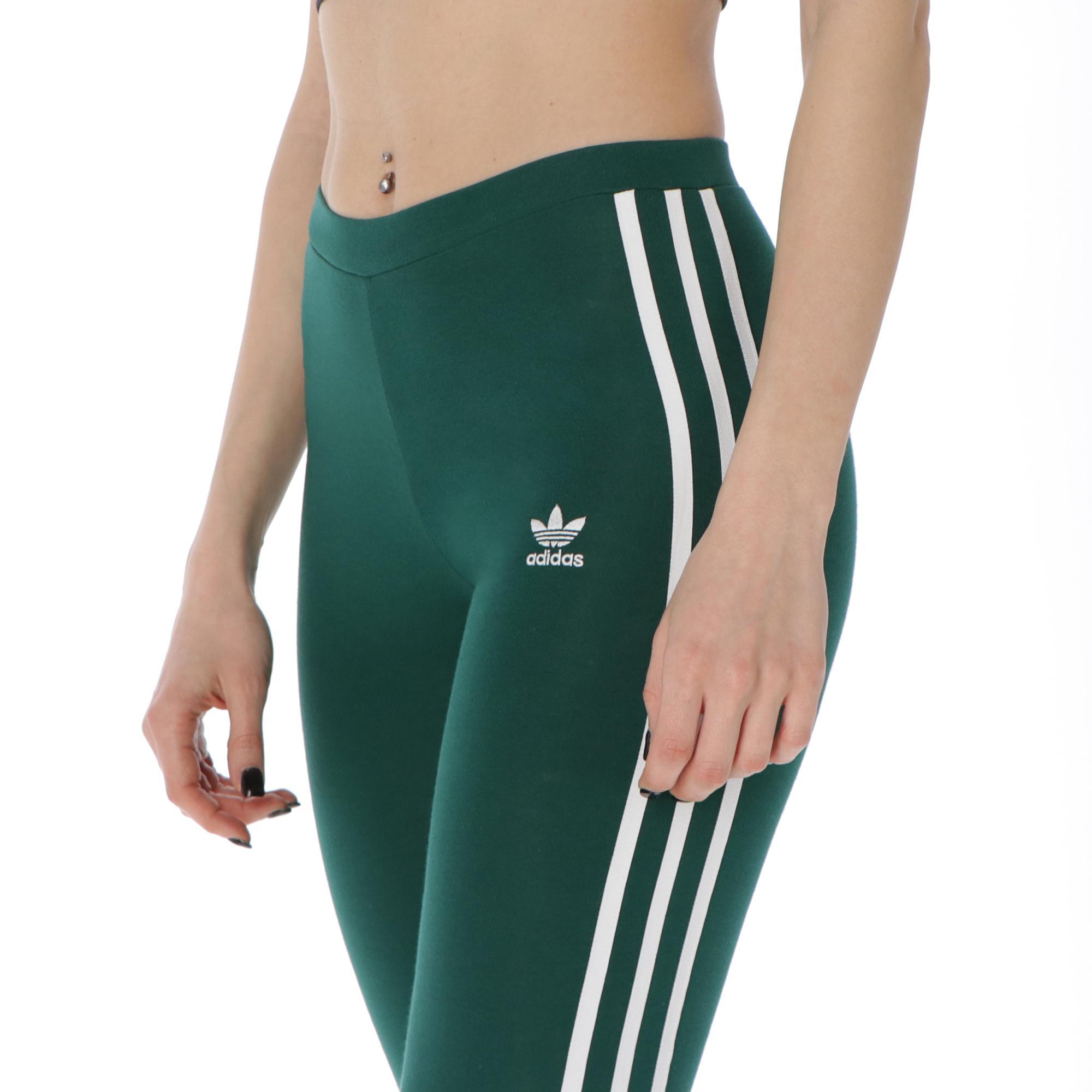 Adidas 3-stripes Tight Collegiate green