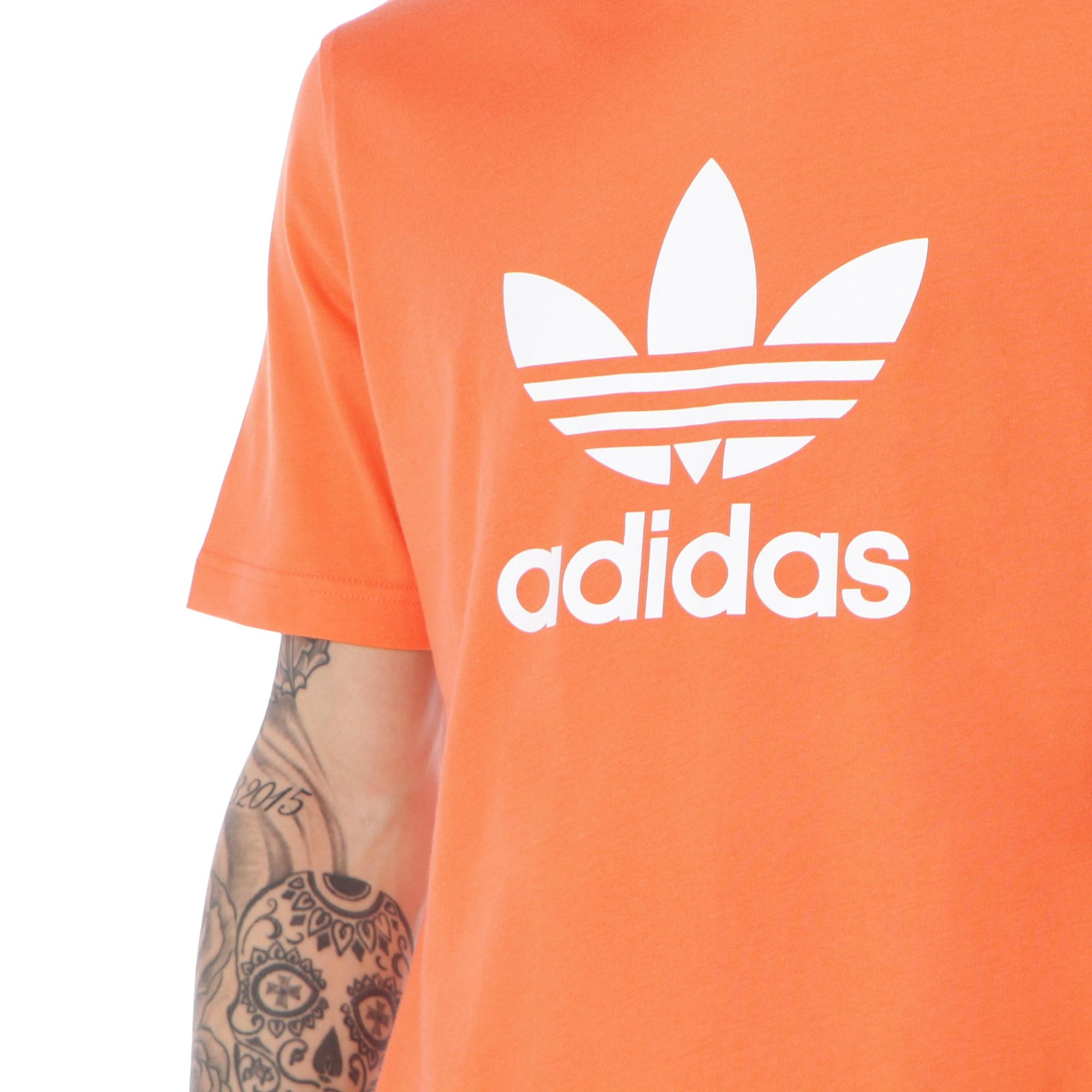 Adidas Trefoil T-shirt True orange