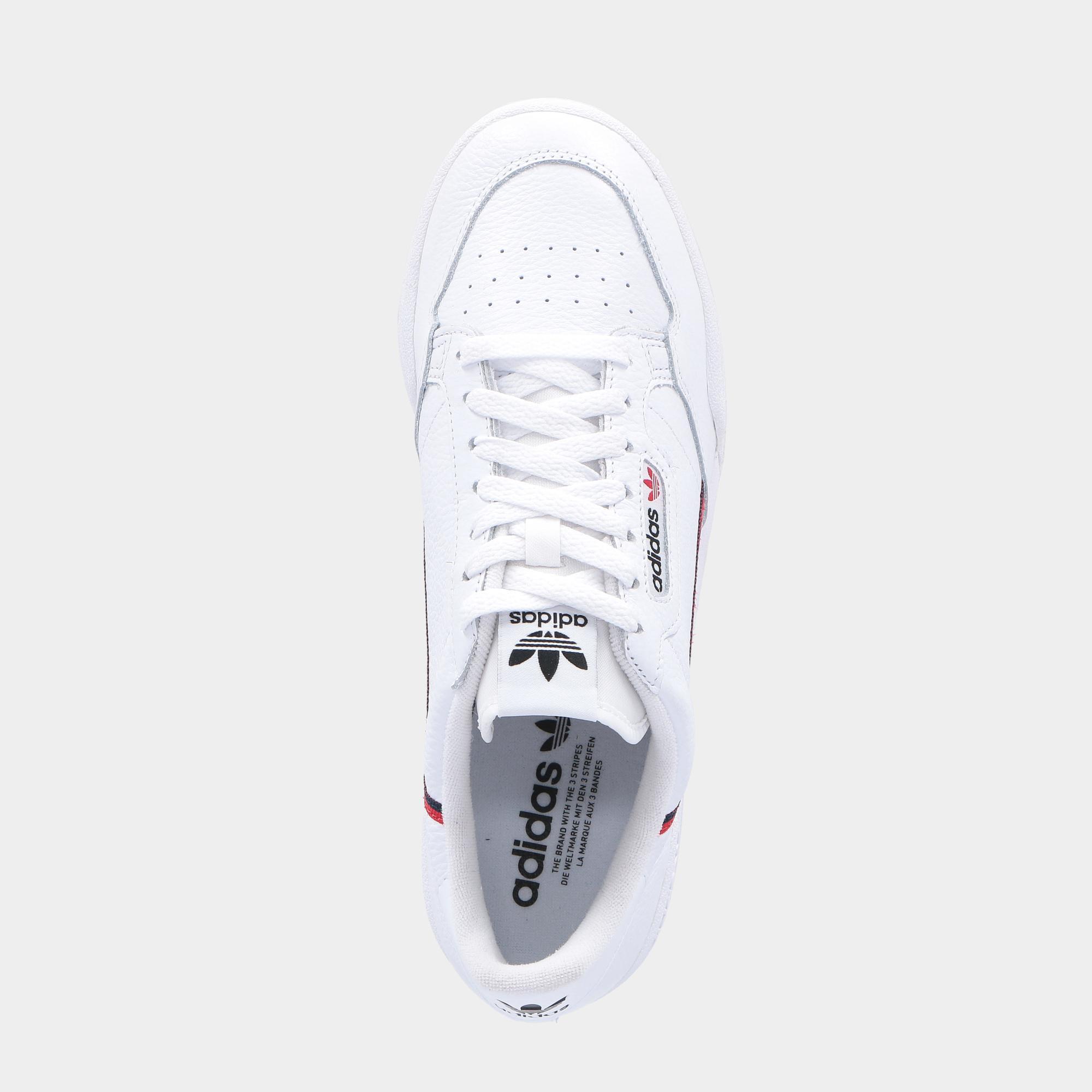Adidas Continental 80 White scarlet navy