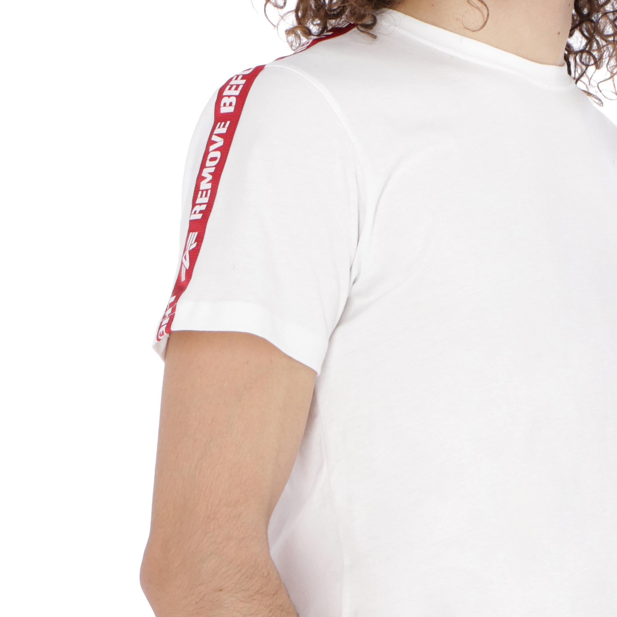 Alpha Industries Rbf Tape Tee WHITE