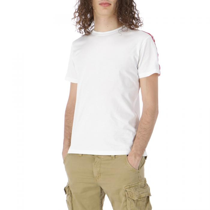 alpha industries t-shirt e canotte white