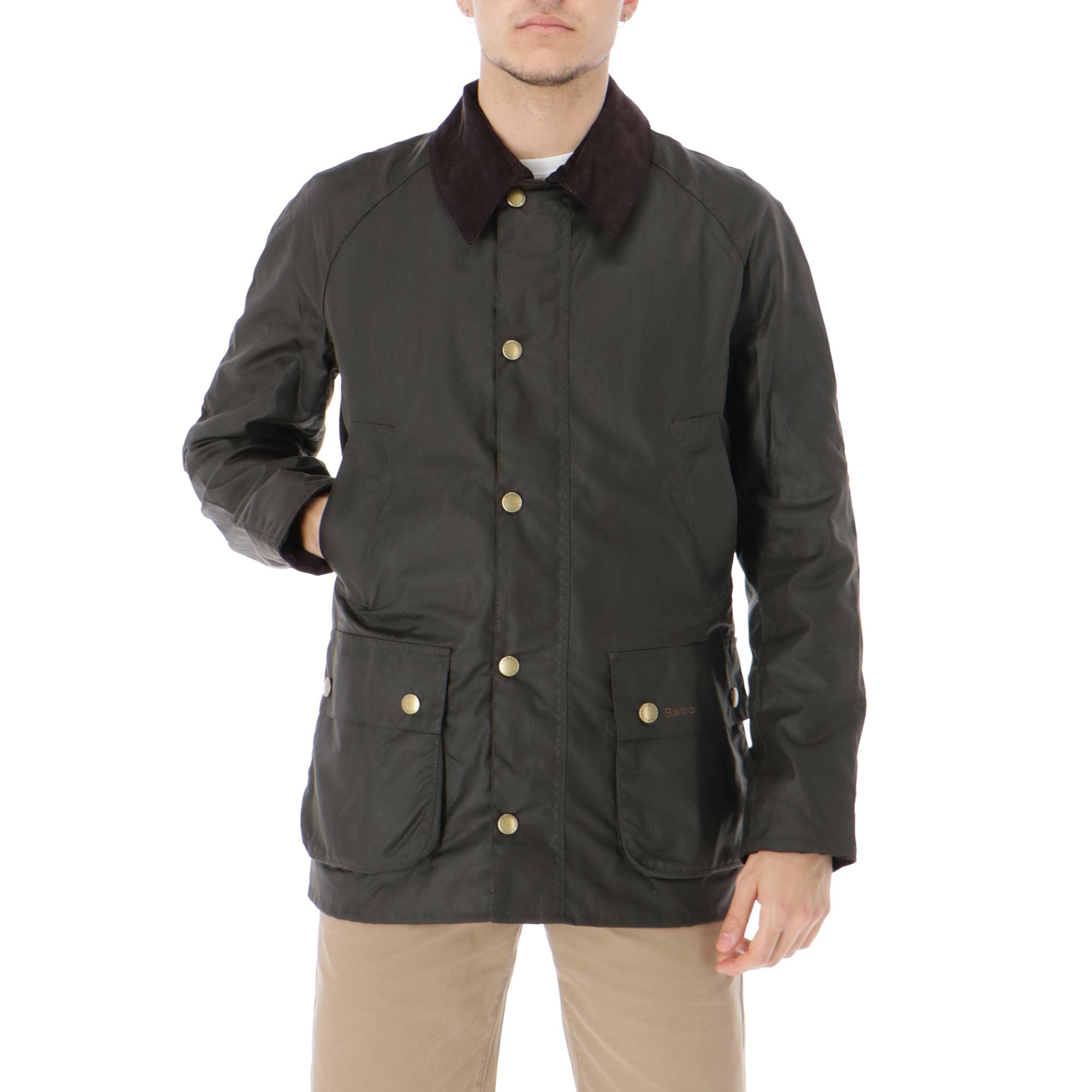 945a0dc792f Barbour Ashby Wax Jacket Olive
