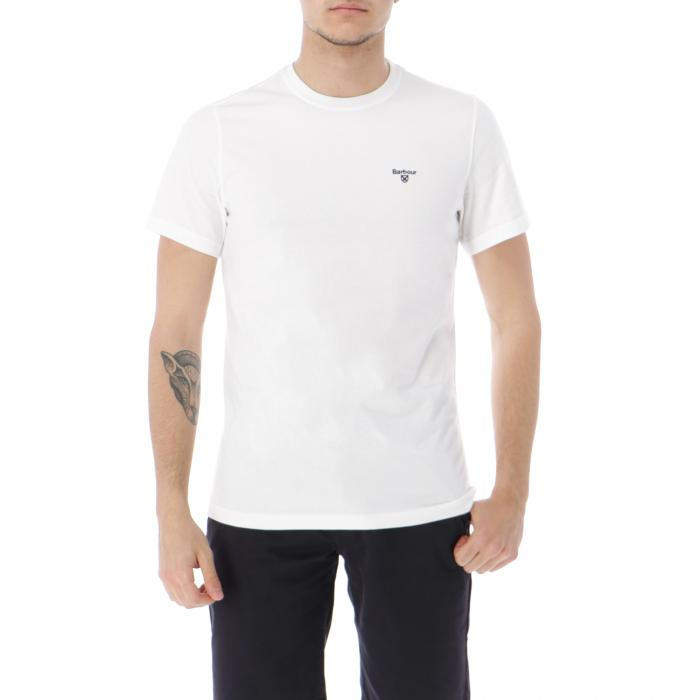 barbour t-shirt e canotte white