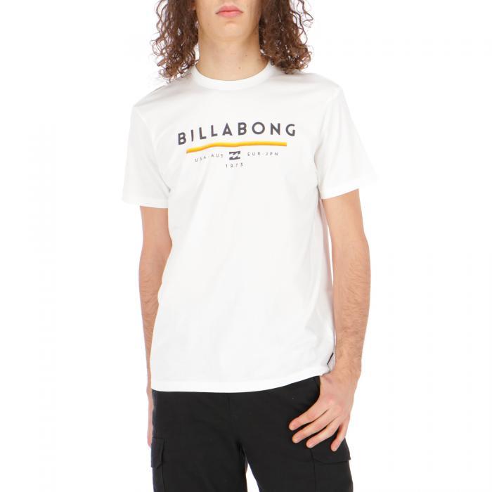 billabong maniche corte white