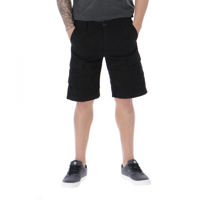 carhartt shorts black rinsed