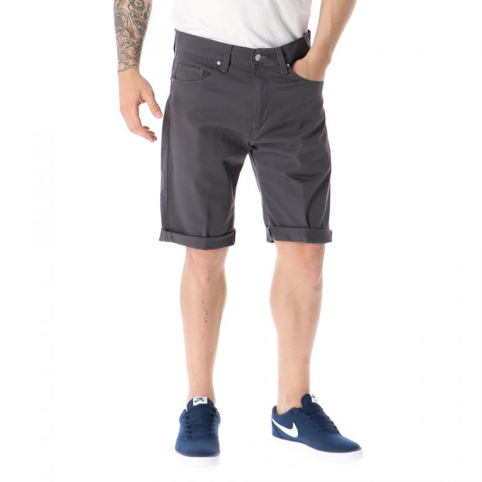 carhartt shorts blacksmith rinsed