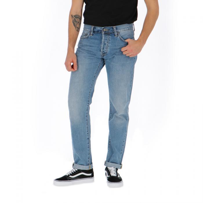 carhartt pantaloni blue coast bleached