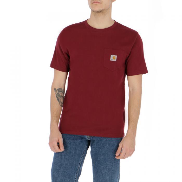carhartt t-shirt e canotte cranberry