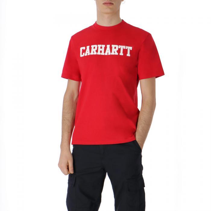 carhartt maniche corte cardinal white