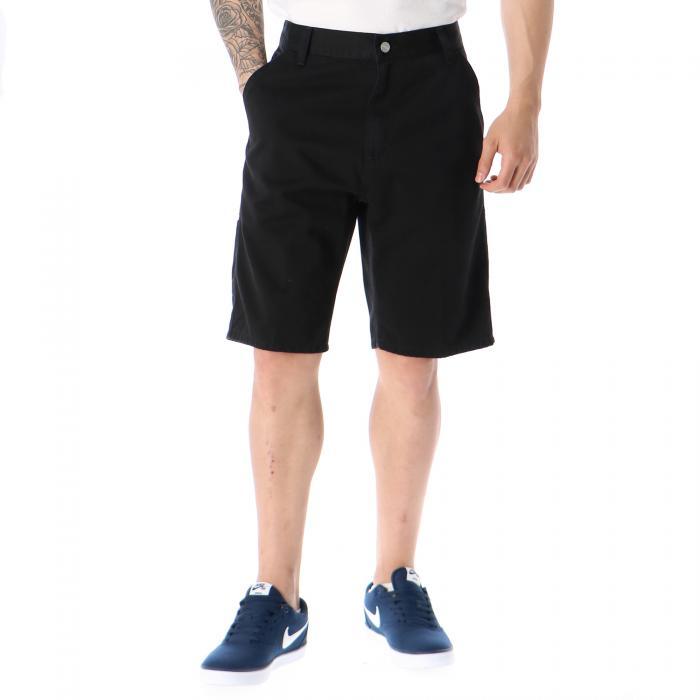 carhartt shorts black stone washed