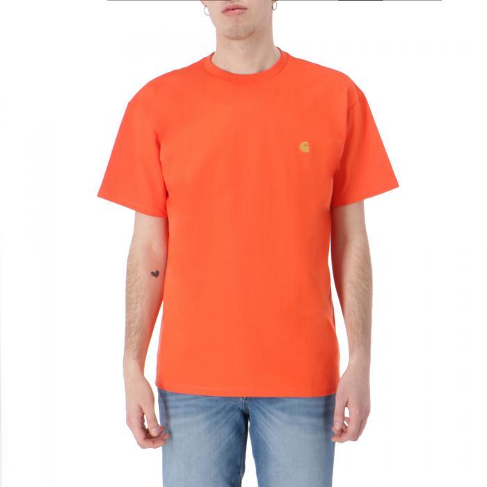 carhartt t-shirt e canotte pepper/gold