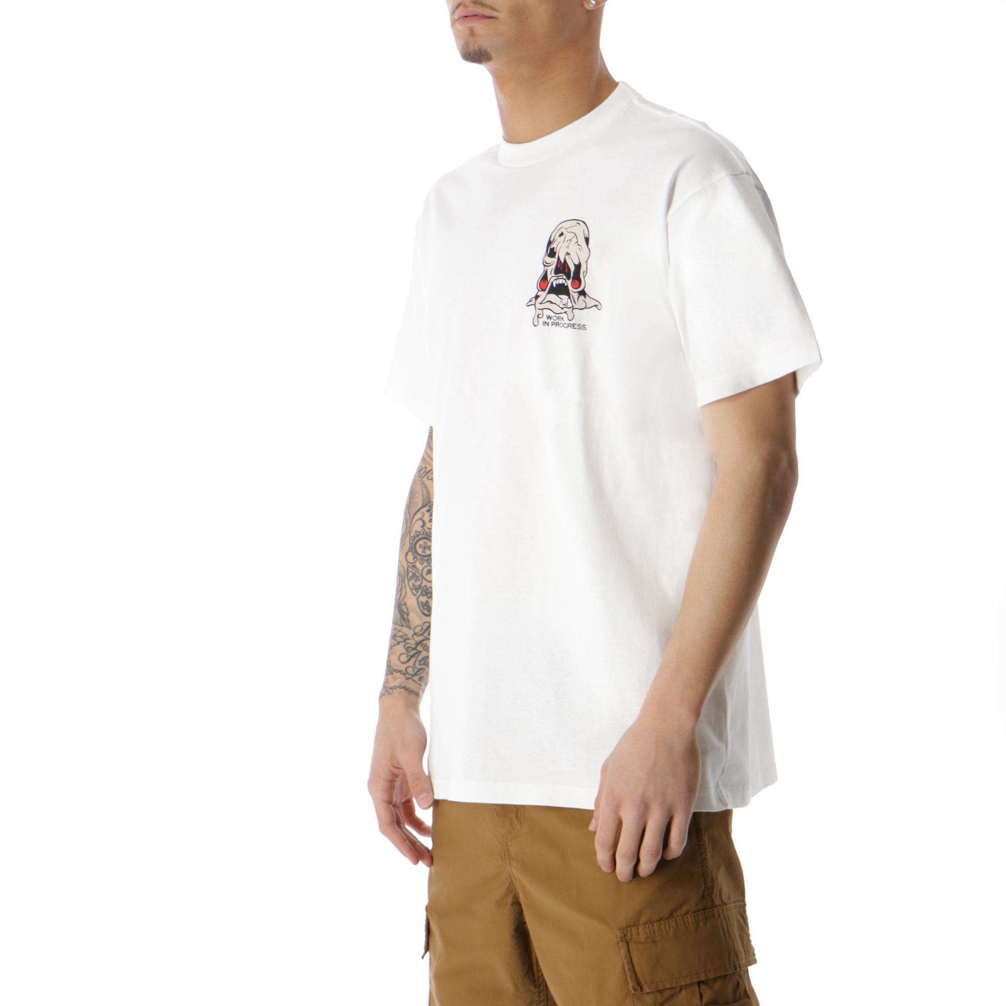 Carhartt Wip Horror T-shirt WHITE