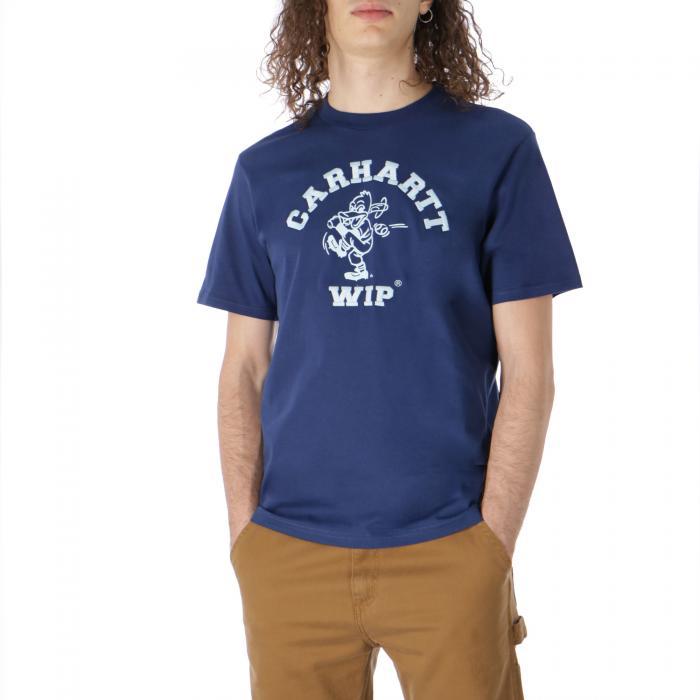 carhartt t-shirt e canotte metro blue/capri