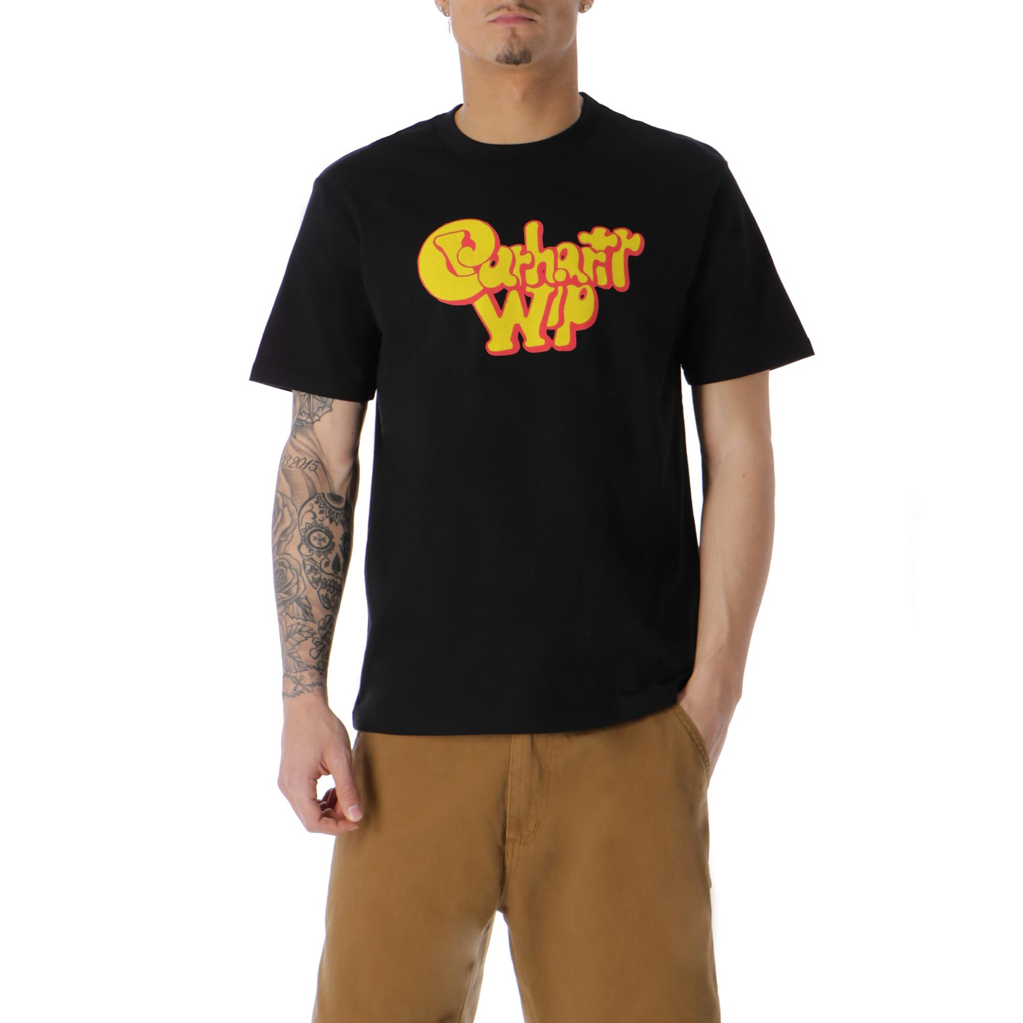 Carhartt Bubble Gum T-shirt Black