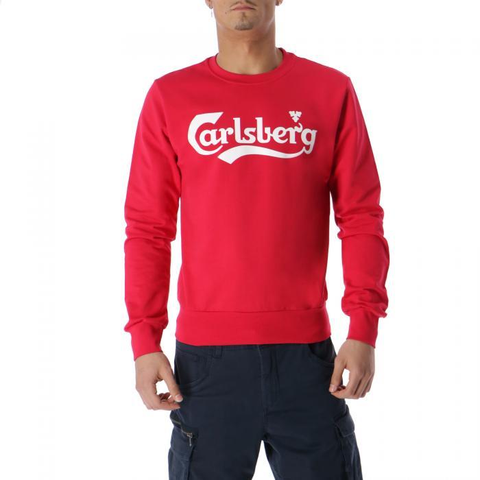 carlsberg felpe red