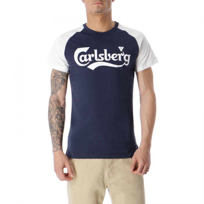 carlsberg t-shirt e canotte blue