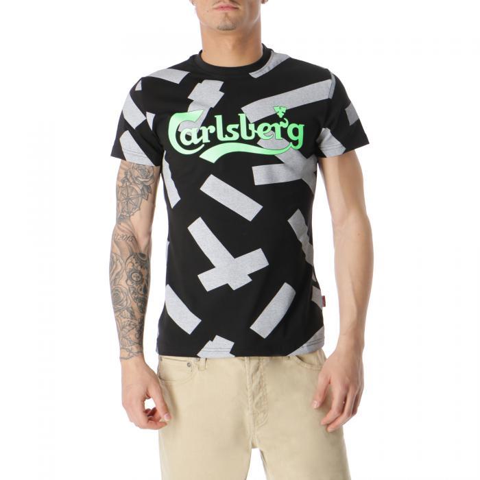 carlsberg t-shirt e canotte black