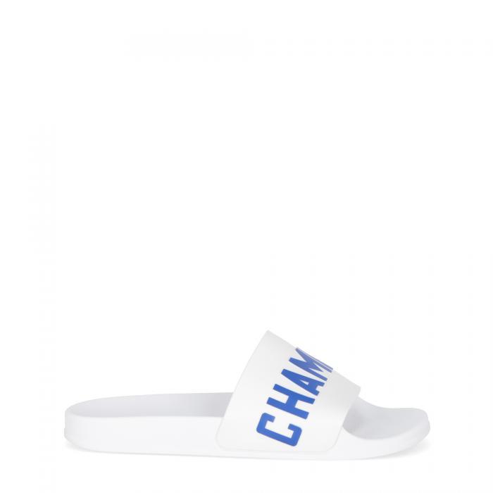 champion sandali e ciabatte wht/blu