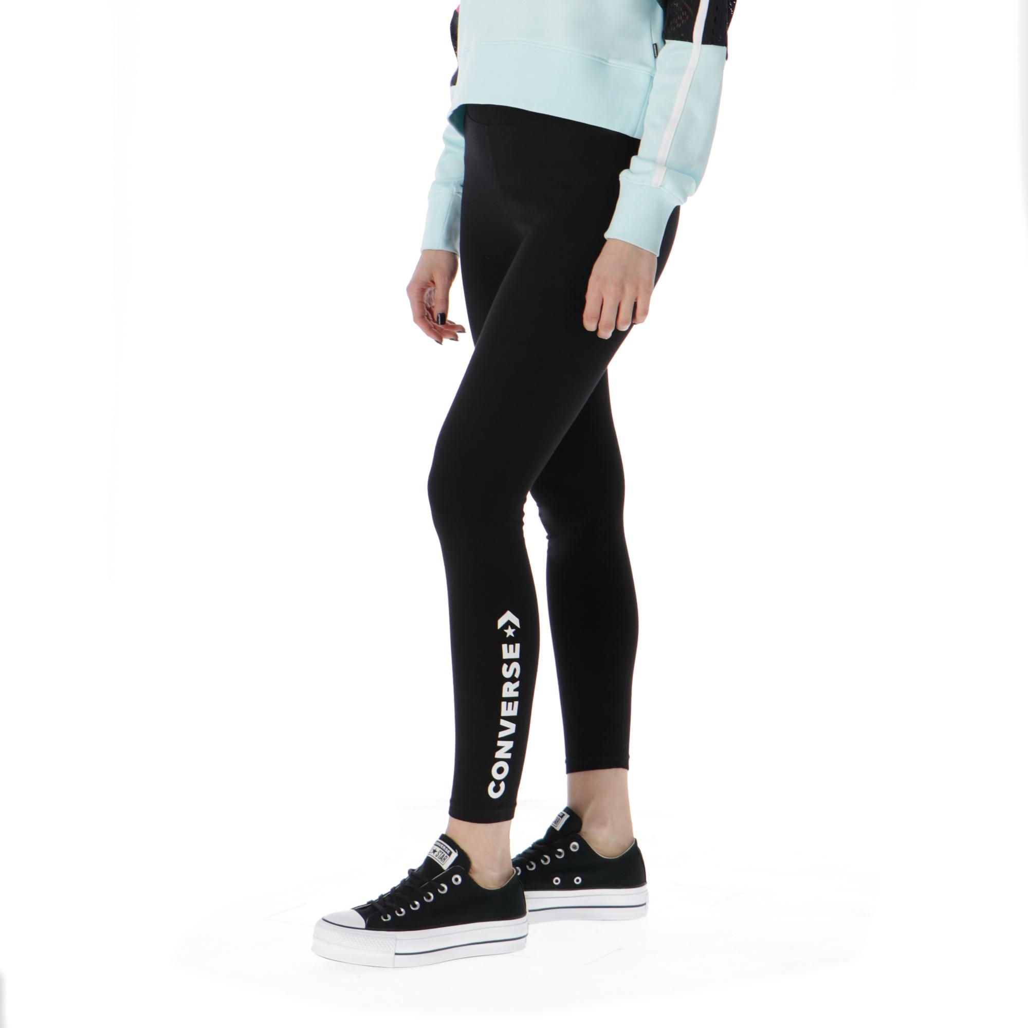 Converse Jersey Leggings Black