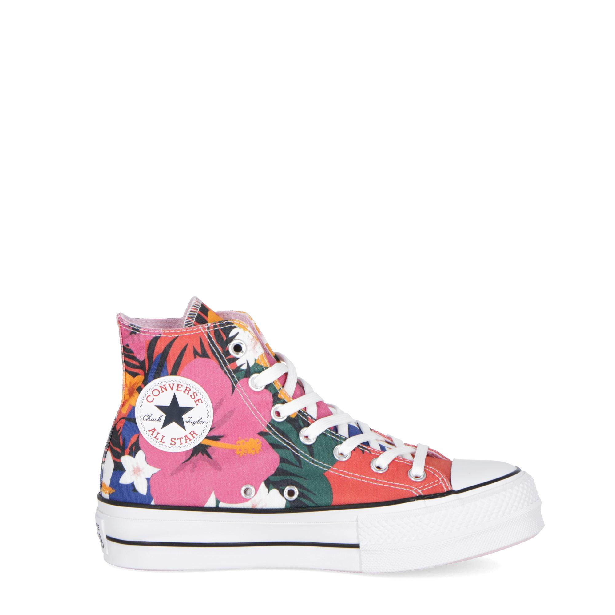 6d40aaa68957 Converse Chuck Taylor All Stars Lift Hi Strawberry Jam pink white ...