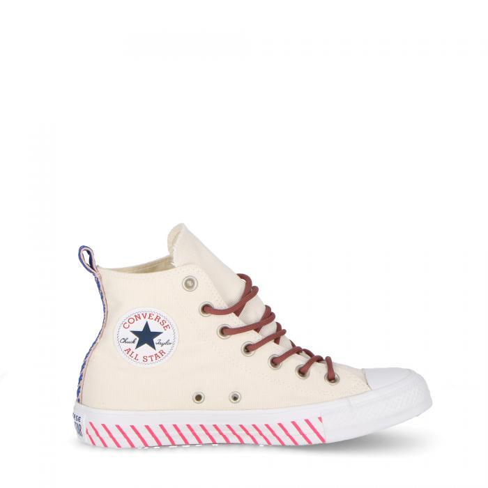 converse scarpe lifestyle white/racer pink