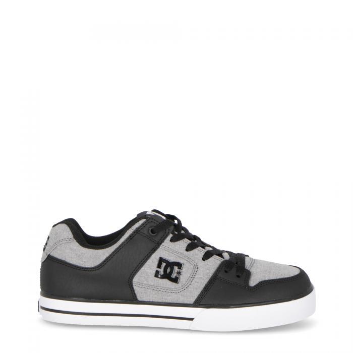 dc scarpe skate grey green