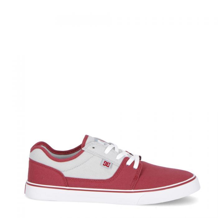 dc scarpe skate dark red