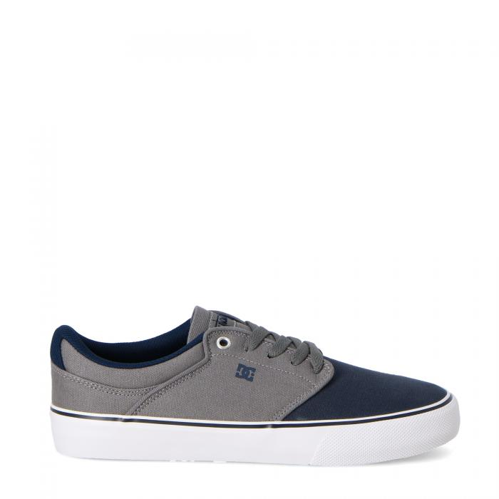 dc scarpe skate grey black