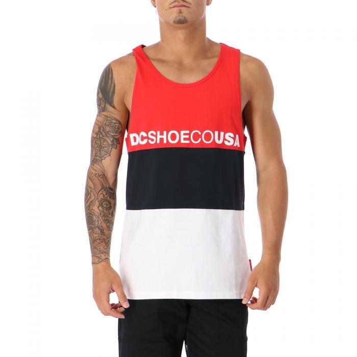 dc t-shirt e canotte racing red
