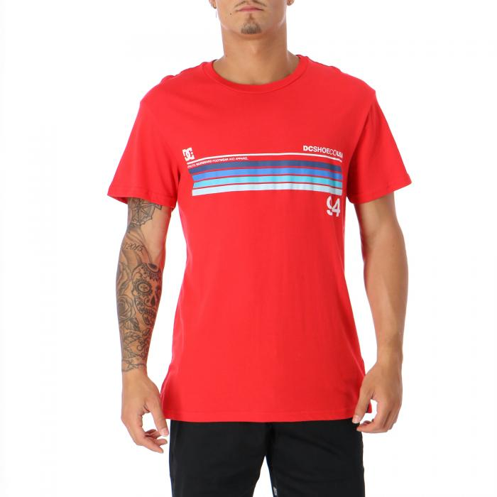 dc t-shirt e canotte racing red