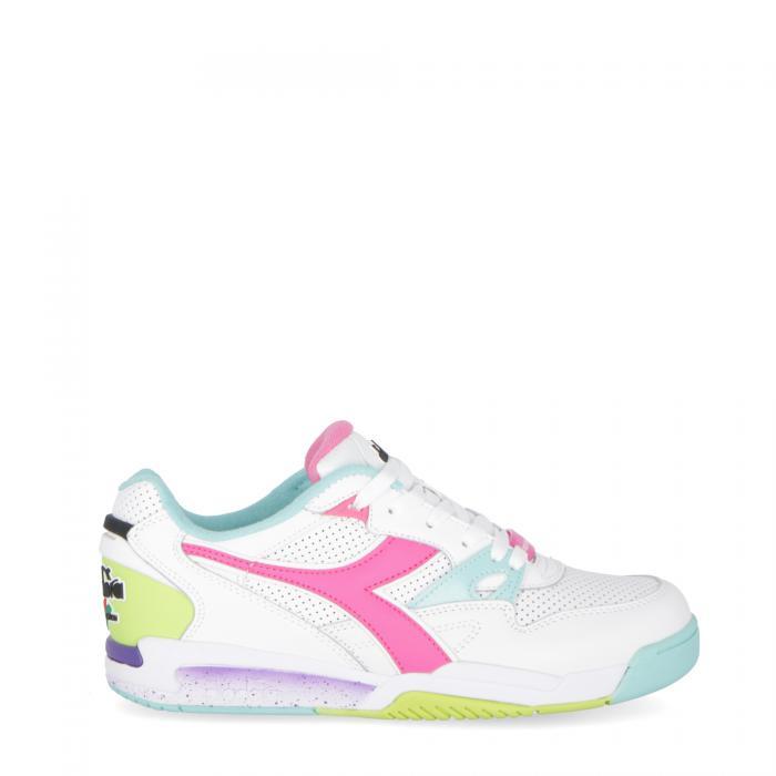 diadora scarpe lifestyle white aruba blue