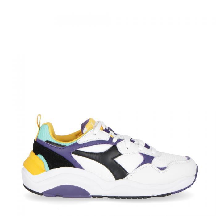 diadora scarpe lifestyle white black mulberry purple