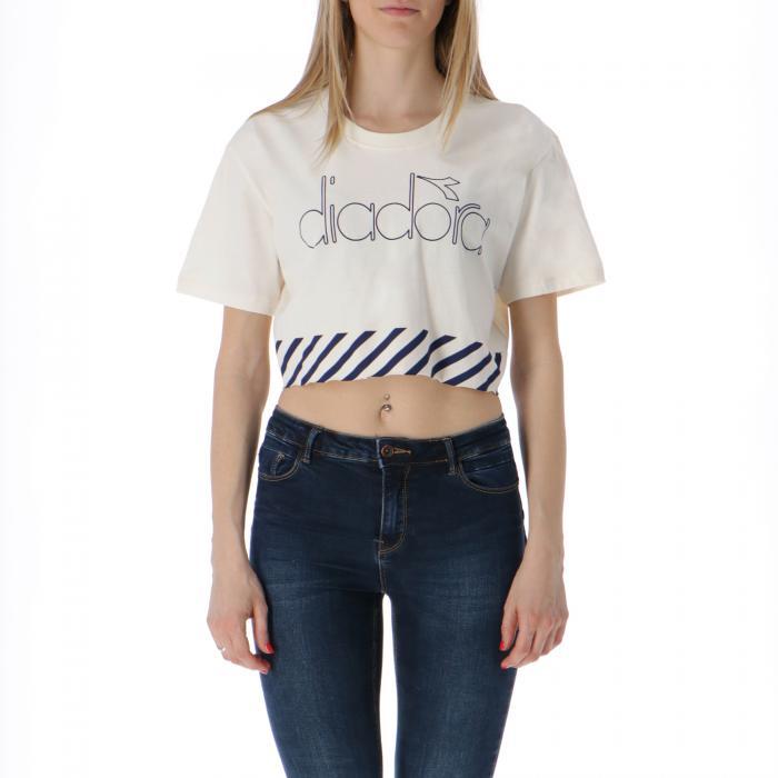 diadora t-shirt e canotte gardenia white