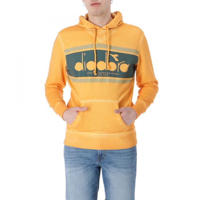 diadora felpe orange mustard