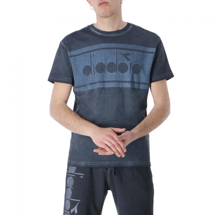 diadora t-shirt e canotte blue denim
