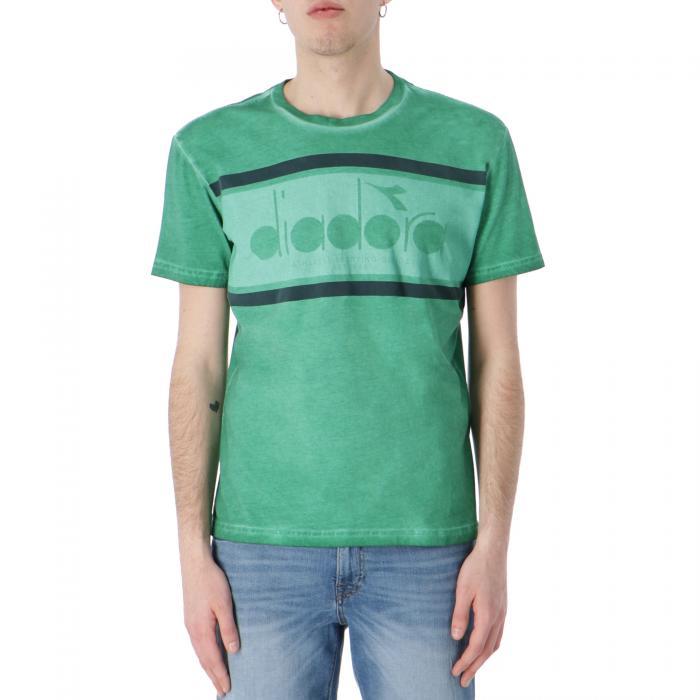 diadora t-shirt e canotte verdant green