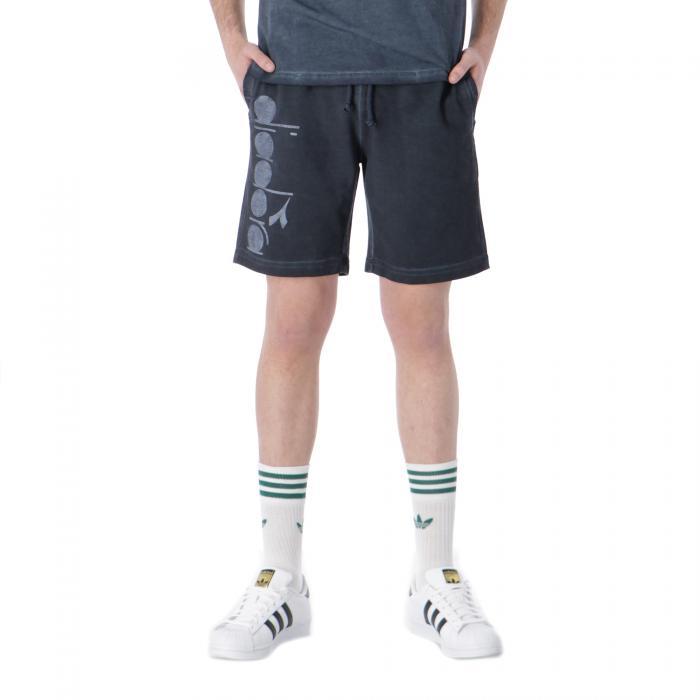 diadora shorts blue denim